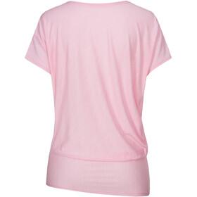 super.natural Yoga Camiseta suelta Mujer, rosa